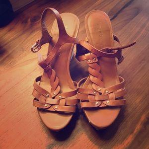 Shoes - FRANCI SARTO heels size 7 strap left need repair